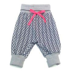 Symønstre til Baby Baggy Bukser