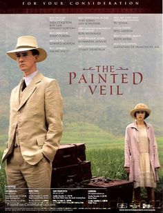 for your consideration movie poster image for The Painted Veil The image measures 500 * 655 pixels and is 96 kilobytes large. Great Films, Good Movies, Best Period Dramas, The Painted Veil, Best Costume Design, Liev Schreiber, Edward Norton, Naomi Watts, Historical Costume