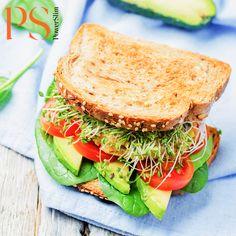 Kip avocado sandwich | PowerSlim fase 2c
