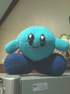 Kirby was my favorite character in Smash Brothers. And was my first Amigurumi game character i crocheted