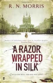 A Razor Wrapped In Silk, 2010. The third St Petersburg Mysteries novel. St Petersburg. 1870. A child factory worker is mysteriously abducted. A society beauty is sensationally murdered. Two very different crimes show up the deep fissures in Russian society of the late tsarist period. The first is barely noticed by the authorities. The latter draws the full investigative might of St Petersburg's finest, led by magistrate Porfiry Petrovich.