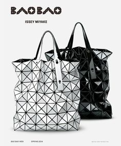 Issey Miyake shopper love; perfect for carrying documents to work