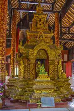 Wat Phrasing in Chiangmai Tower, Pictures, Temples, Places, Rook, Computer Case, Building
