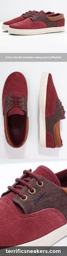 C1rca VALEO Sneaker tawny port/offwhite | Terrific Sneakers