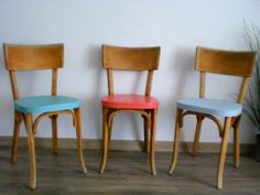 Chaise bistrot baumann revisit chaises pinterest for Chaise bistrot cannee bois