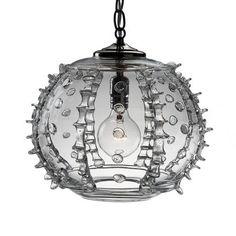 Sea Urchin Harriet Globe Pendant $750.00 Dimensions: 12″ W x 10.5″ H