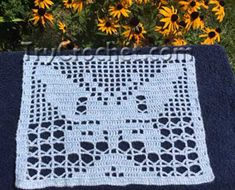 How to crochet filet crochet patterns? It is really easy! You have to learn only TWO crochet stitches to follow filet crochet charts.