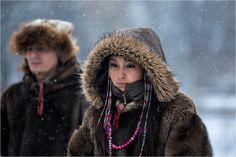 Our guide (ethnic Chukchi)    January 2013, Moscow region, Russia  http://www.flickr.com/photos/serg-157/8446076970/in/set-72157632691335522