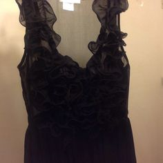 HOST PICK Beautiful Black Vintage Dress Brand new, never worn only tried on, best its a size large, or can be tailored to be made smaller Dresses