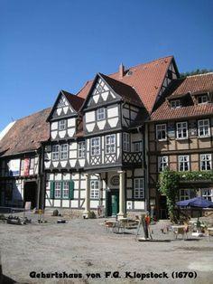 Quedlinburg geburtshaus von F.G. Klopstock