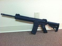 Smith and Wesson M 15, select fire, full auto setting, 5.56 caliber $4,500