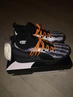 f1f4278e084861 Details about Puma Clyde Court X-Ray Skeleton Disrupt HW men s black shoes  sneakers 19189501