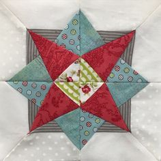 Block 87 of The Splendid Sampler quilt