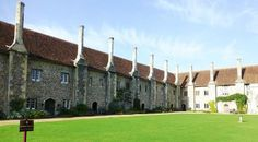 Photo of Hospital of St Cross - Monastic almshouses featured in Trollope's Barsetshire novels; still in use; walking (hiking) distance from Winchester