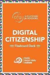 Digital Citizenship Flashcards - 9 decks