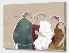 """""""Vogue"""", Exclusive Edition Canvas Print by Gabriel Villena - From $69.00 - Curioos"""