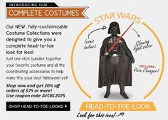 Check out these amazing costumes on Head to Toe Costume Collection.