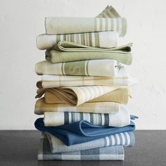 Shop sage green kitchen towels, aprons, oven mitts and more at Williams Sonoma. Find kitchen linens in a variety of colors and patterns. Kitchen Linens, Kitchen Towels, Kitchen Decor, Kitchen Logo, Kitchen Shop, Kitchen Stuff, Kitchen Gadgets, Sink Countertop