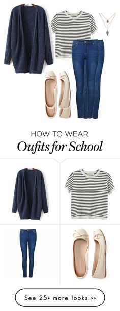 """School outfit"" by cah2014 on Polyvore featuring Chicnova Fashion, Ally Fashion and Aéropostale"