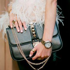 Rocklock Medium Shoulder Bag by Valentino