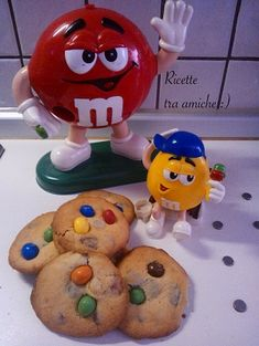 #M&M's #cookies  #biscottiamericani #ricettetraamiche