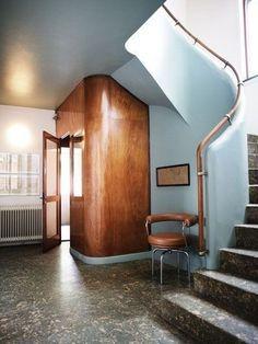 Frits Schlegel, 1931 Love the simple elegant Art Deco curves Architecture Details, Interior Architecture, Interior And Exterior, Architecture Portfolio, Bauhaus Interior, Architecture Sketchbook, Architecture Panel, Minimalist Architecture, Victorian Architecture