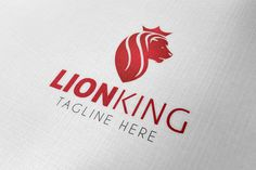 Check out Lion King Logo by samedia on Creative Market