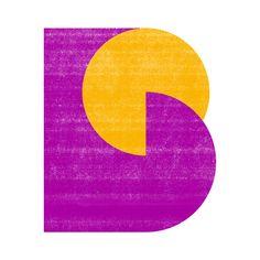Benoît Robert - B, geometric shape #workinprogress #geometry #abstract #logotype #branding