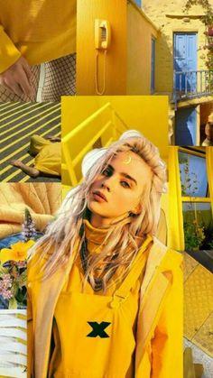 Billie Eilish wallpaper - Best Quality Wallpapers for Your Phones Billie Eilish, Videos Instagram, Photo Instagram, Aesthetic Videos, Aesthetic Pictures, Fallout 3, Soccer Couples, Album Cover, Funny Videos