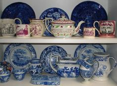 Transferware display!