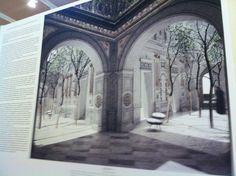 Vista interior de lo que será el Palacio Pereira una vez restaurado.