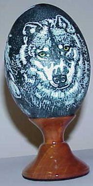 Carved/Etched/Sculpted Emu Eggs 2002