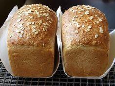 Honey Buttermilk Oat Bread. No buttermilk? Add 1 tblsp lemon juice to ...
