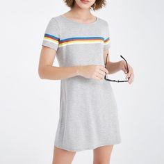 Nwt Heather Gray Long Tshirt Dress