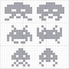 Bilderesultat for space invaders genser