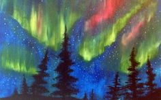 Northern Lights   http://creativelyuncorked.com