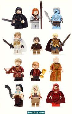 Game of Thrones Lego figures