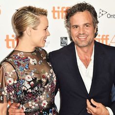 Toronto's own, Rachel McAdams, with co-star Mark Ruffalo on the red carpet for the premiere of #Spotlight! Find their looks on the blog •link in bio• #TIFF15 #YorkdaleTIFF15