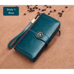 Hot Sale Women Clutch 2017 New Wallet Split Leather Wallet Female Long Wallet Women Zipper Purse Strap Coin Purse For iPhone 7 Lv Bags, Purses And Bags, Purse Strap, Coin Purse, Iphone 7, Crossbody Bag, Tote Bag, Wallets For Women Leather, Chic