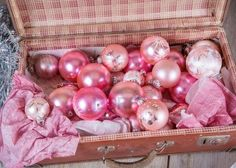 antique pink christmas