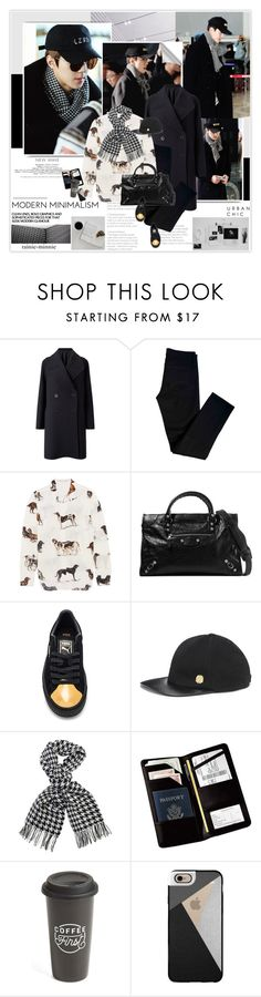 """""""Urban Stylish"""" by rainie-minnie ❤ liked on Polyvore featuring Jigsaw, J Brand, STELLA McCARTNEY, Balenciaga, Puma, Vince Camuto, Barbour International, Royce Leather, The Created Co. and Casetify"""
