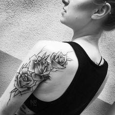 geometric sketchy tattoo - Google Search