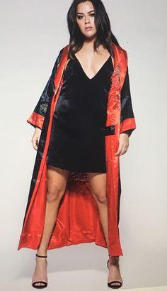 Chessa, Tessa Brooks, Kimono Top, Satin Blouses, Celebrities, Womens Fashion, People, Wanderlust, Characters