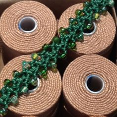 Marion Jewels in Fiber - News and Such: Turkish Flat Bead Crochet with C-Lon Tex 400 Bead Cord