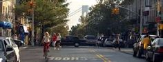 Walking around Bay Ridge, Brooklyn, the Verrazano-Narrows Bridge has a way of taking you by surprise,