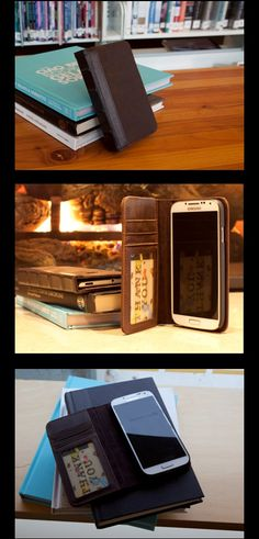 Classic book-ish cover! @BoxWave leather vintage style Samsung Galaxy S4 phone case. Want it!!!