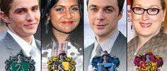 150 Celebrità smistate nelle case di Hogwarts