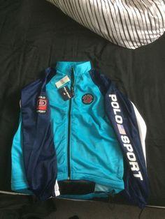 Ralph Lauren Polo Sport Vintage Cycle Jacket BNWT Snowbeach 92 Stadium Pwing   eBay