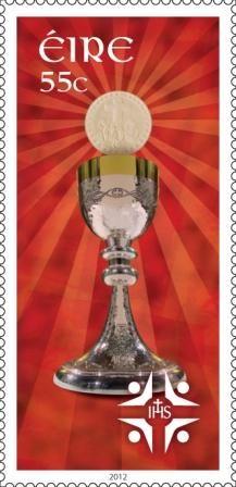 Ireland stamps | New Irish Stamps Mark 50th International Eucharistic Congress 2012