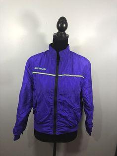 Ladies Vintage Small Arctic Cat Windbreaker Coat Purple   | eBay Arctic, Motorcycle Jacket, Windbreaker, Purple, Cats, Vintage, Ebay, Gatos, Moto Jacket